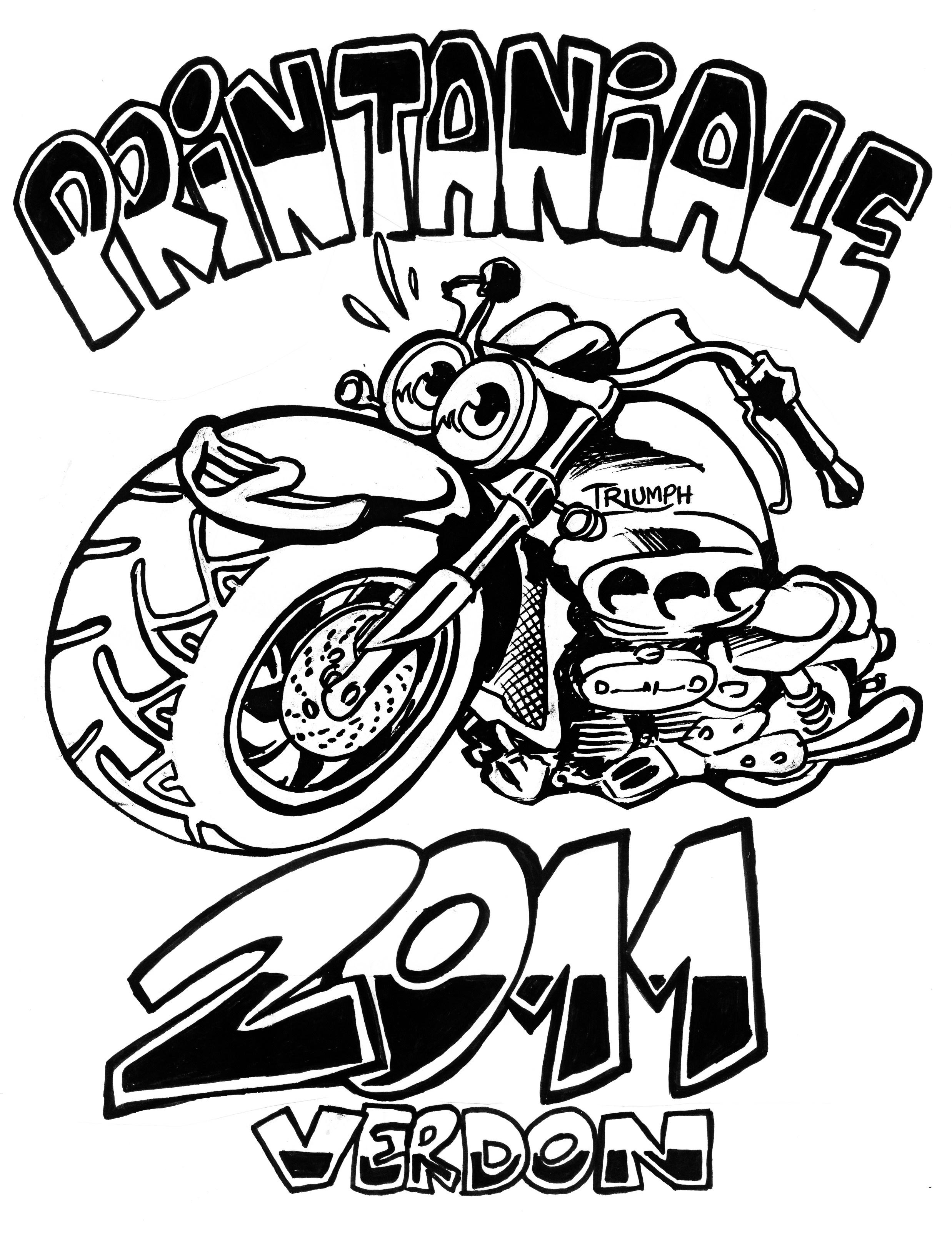 Forum : Balades, sorties / Tee shirt Printaniale 2011